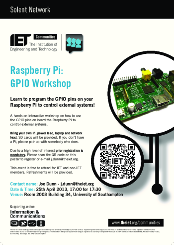 Raspberry Pi - 25 April Poster